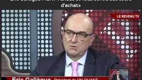 Eric Galiègue : «BNP Paribas et Total sont à des cours d'achat»