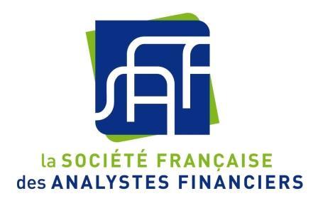 """Conférence du 01/09/2019 """"La communication comptable et financière à l'heure de la digitalisation"""""""