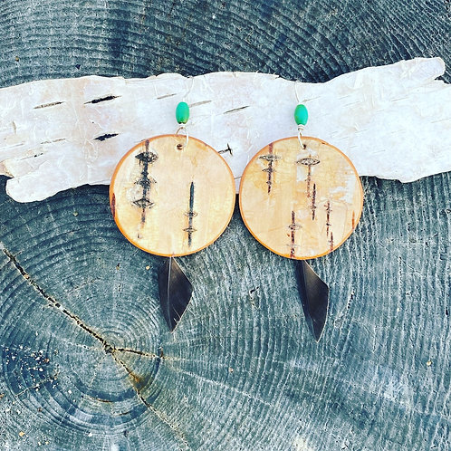 Tern earrings.
