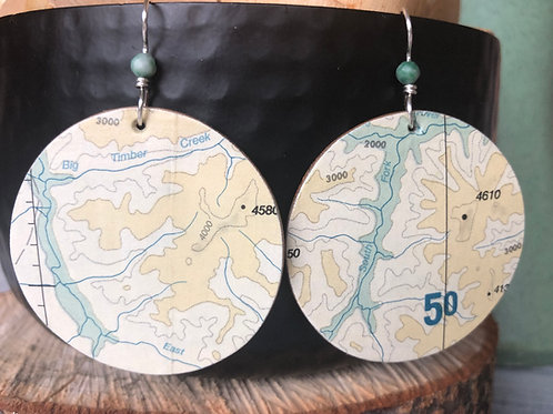 Timber creek earrings