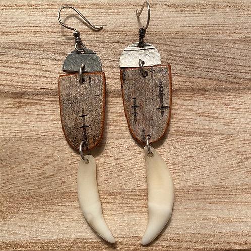 Howl earrings