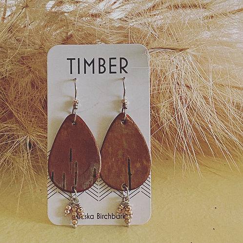 Sweet grass earrings.
