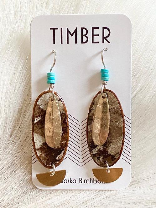 Desert memory earrings