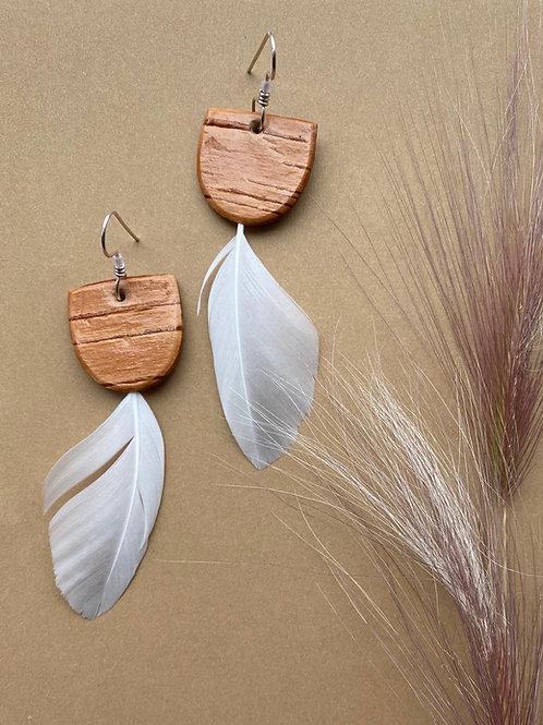 Cygnet earrings