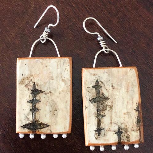 Aghileen earrings