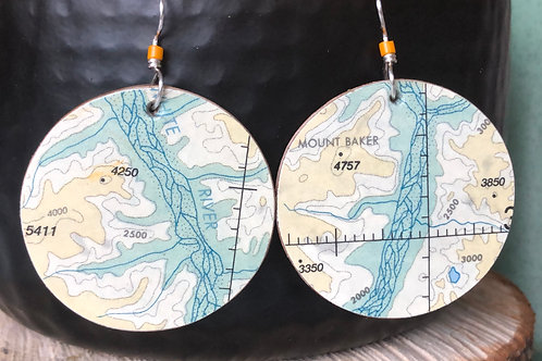 White River earrings