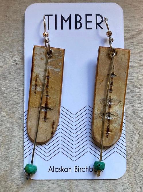 Kvichak bay earrings