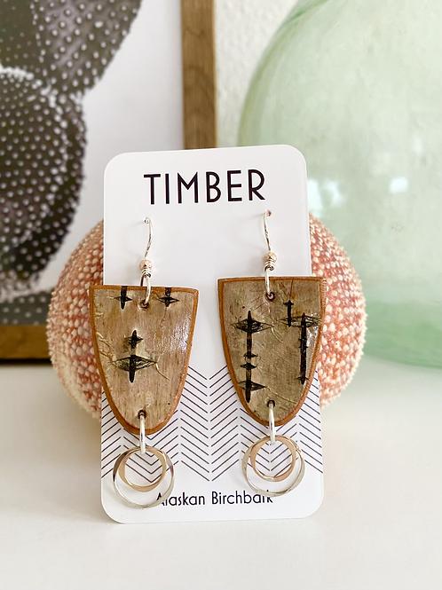 Salcha earrings.