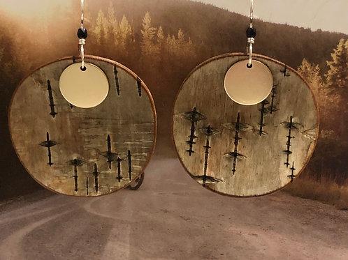 Moonrise earrings