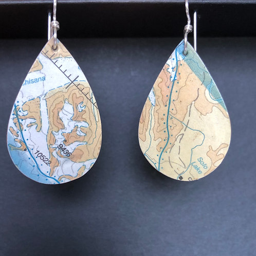 Solo lake earrings