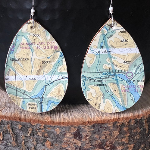 Cooper landing earrings