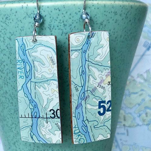 Two rivers earring