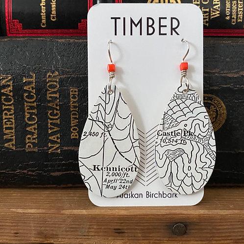Castle peak earrings