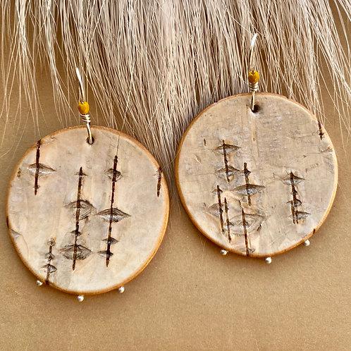 Harvest Moon earrings