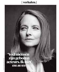 De Morgen Magazine Jodie Foster