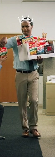 Scene from Conagra Brands: Snack King commercial