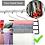 Thumbnail: Pants Hanger Multi-Layer Jeans Trouser Hanger Closet Stainless Steel Rack Space