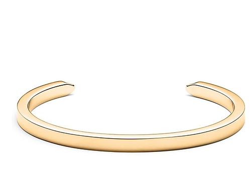 Women's Minimalist Cuff Bracelet | Open Closure, Stainless Steel