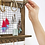 Thumbnail: Buttercup Rustic Jewelry Organizer with Bracelet Rod Wall Mounted - Wooden Wall