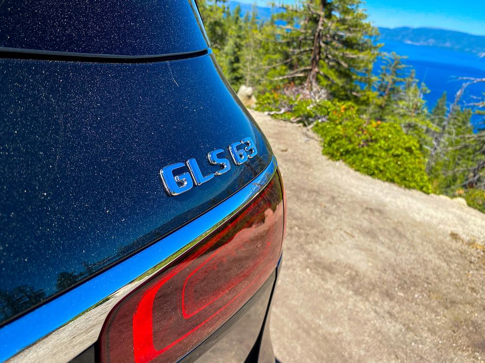 2021 Mercedes-AMG GLS 63 GLS 63 badge