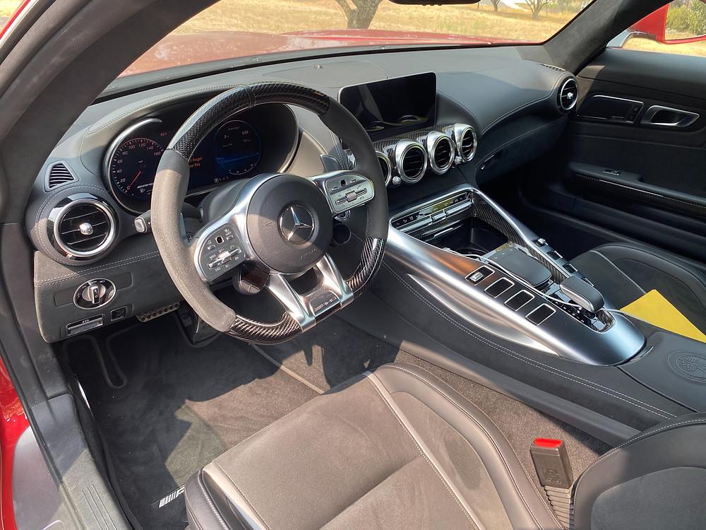 2020 Mercedes-AMG GT C instrument panel