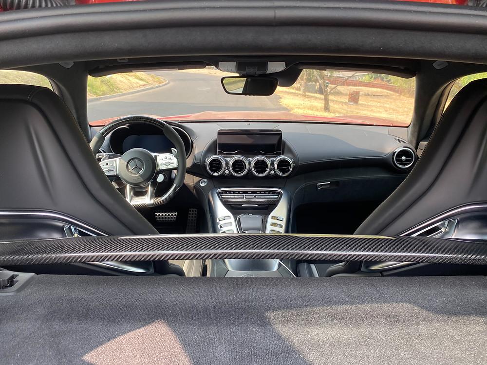 2020 Mercedes-AMG GT C interior
