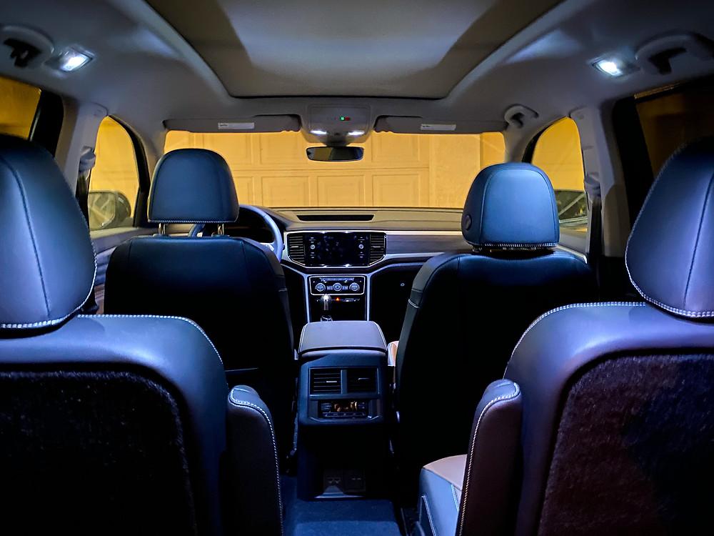 2021 Volkswagen Atlas V6 SEL Premium interior