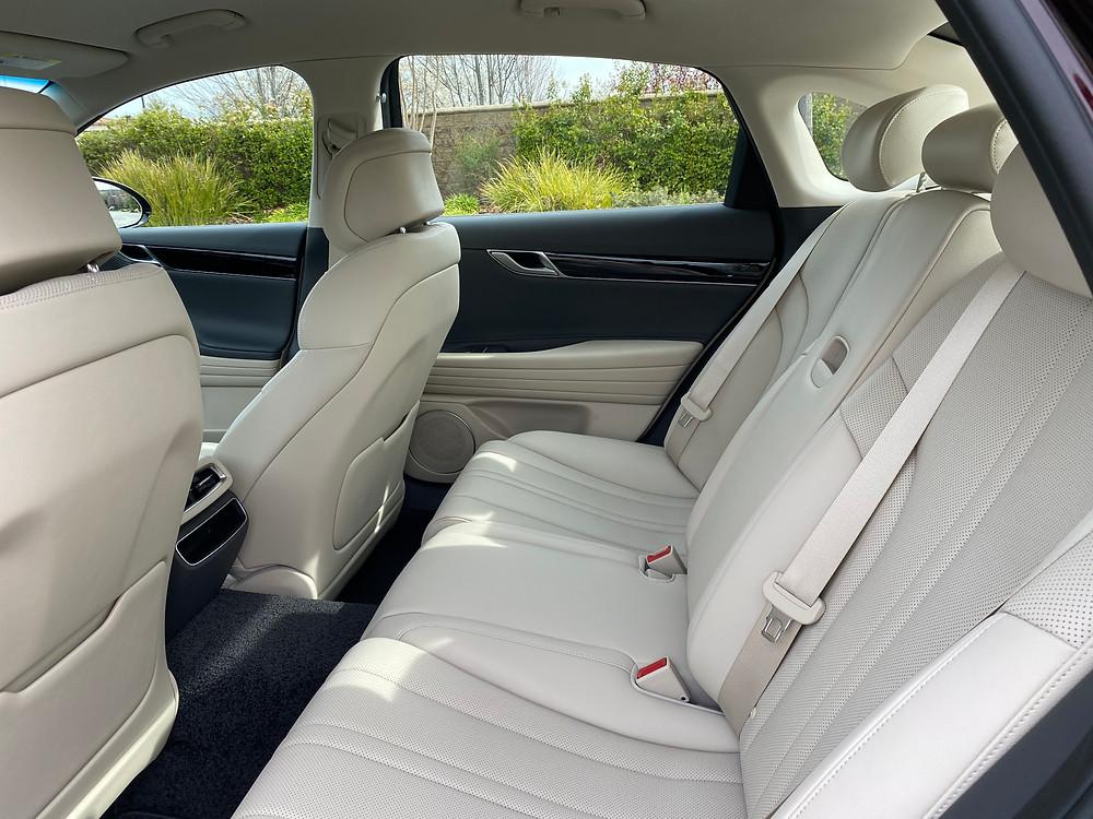 2021 Genesis G80 2.5T Standard rear seat