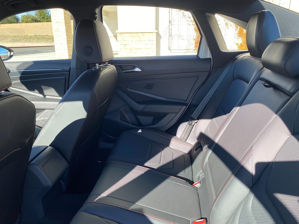 2021 Volkswagen Jetta GLI rear seat