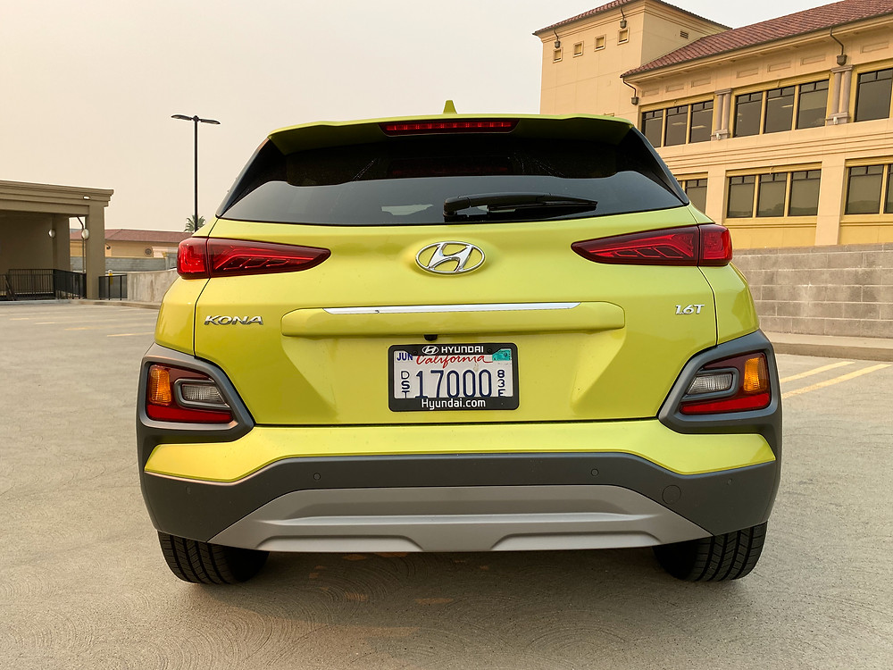 2020 Hyundai Kona Ultimate FWD rear view