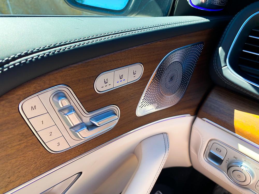 2021 Mercedes-AMG GLS 63 driver's door detail