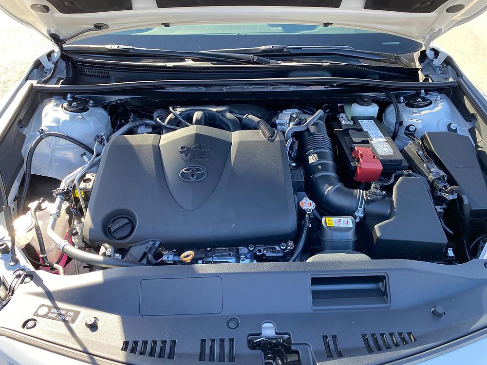 2021 Toyota Camry V6 TRD engine