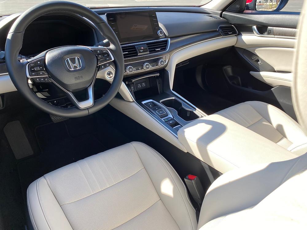 2021 Honda Accord Hybrid Touring instrument panel