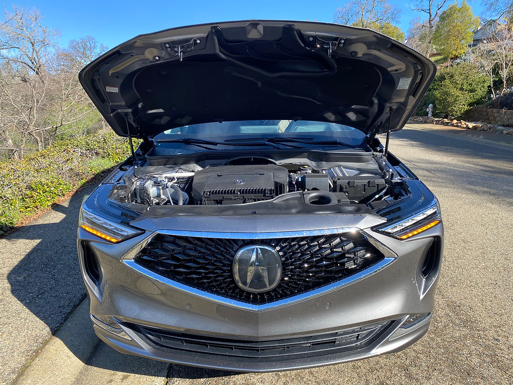 2022 Acura MDX SH-AWD Advance hood up