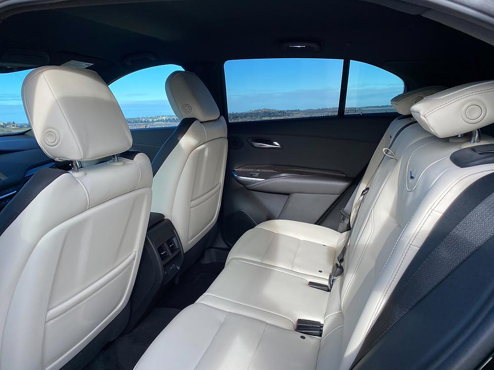 2021 Cadillac XT4 rear seat