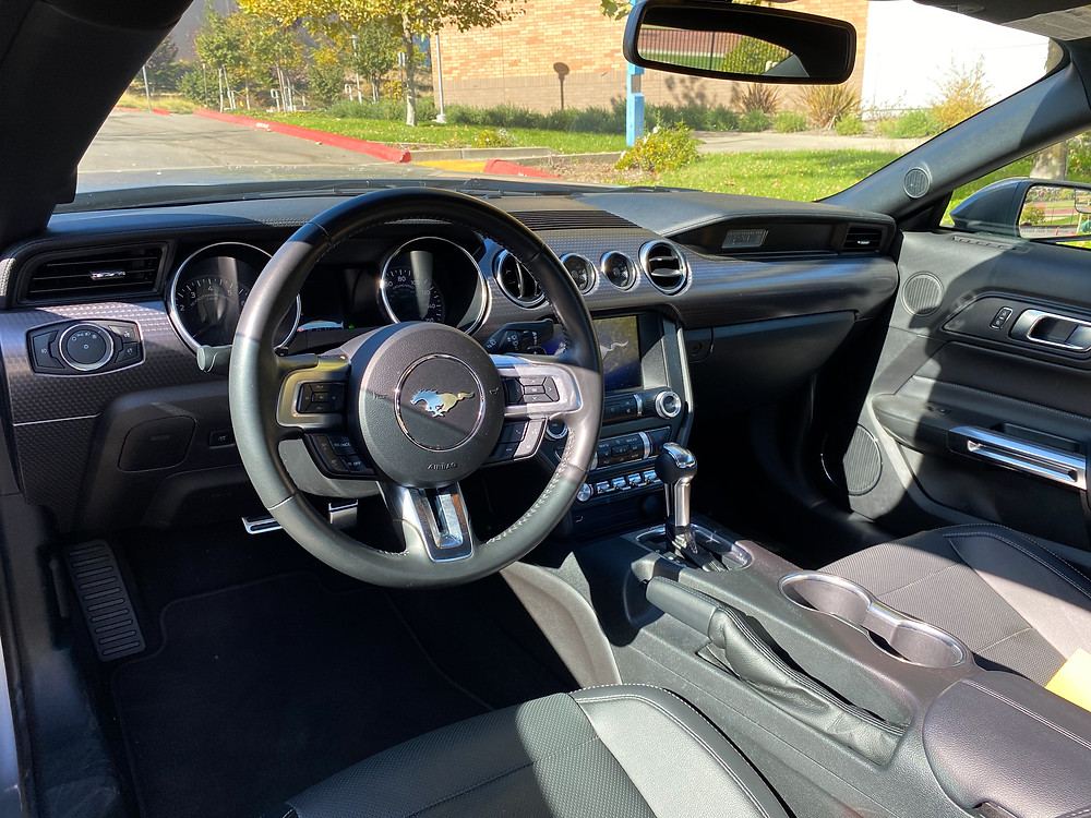 2020 Ford Mustang 2.3L High Performance Ecoboost instrument panel