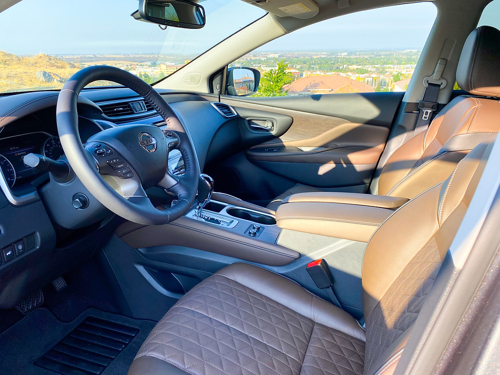 2020 Nissan Murano Platinum FWD front seats