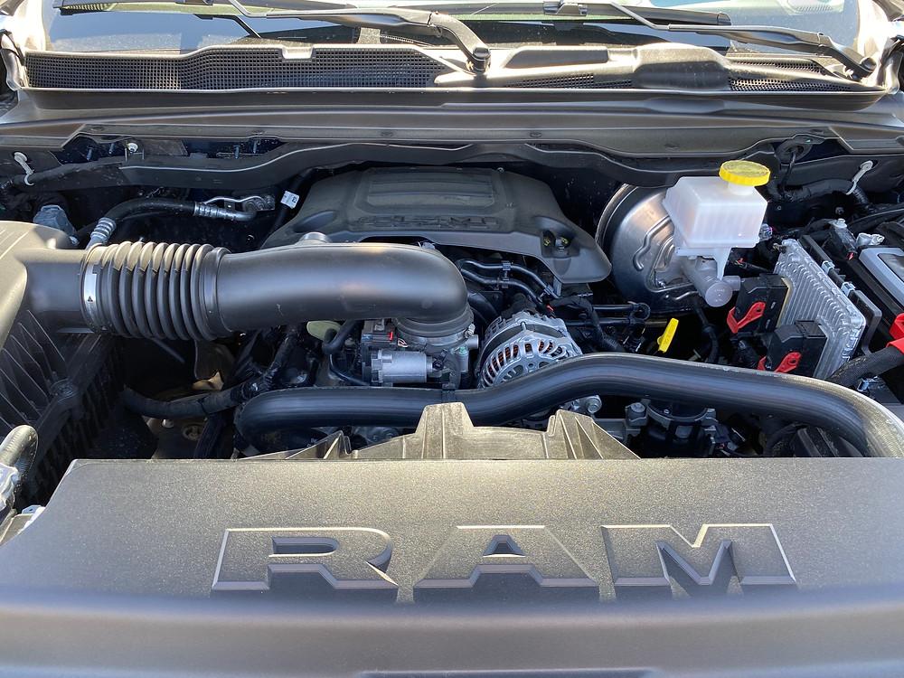 2021 RAM 1500 Laramie Crew Cab 4X4 engine