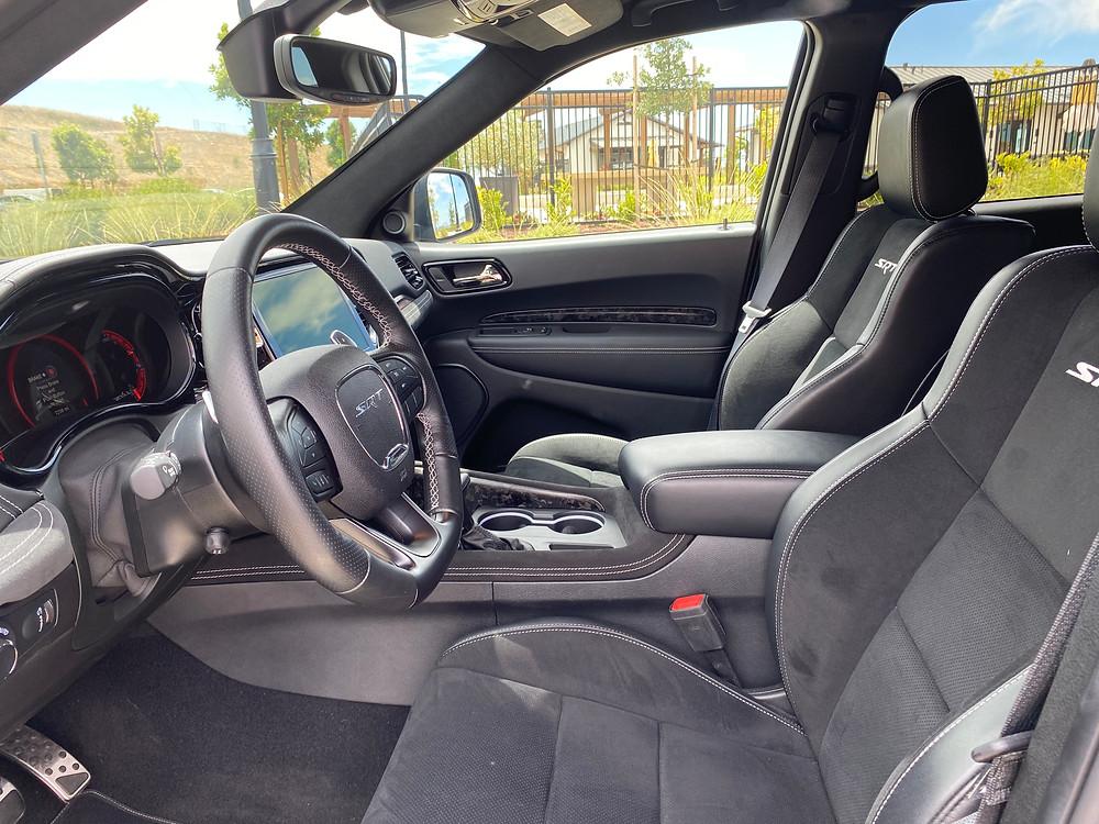 2021 Dodge Durango SRT Hellcat AWD front seats