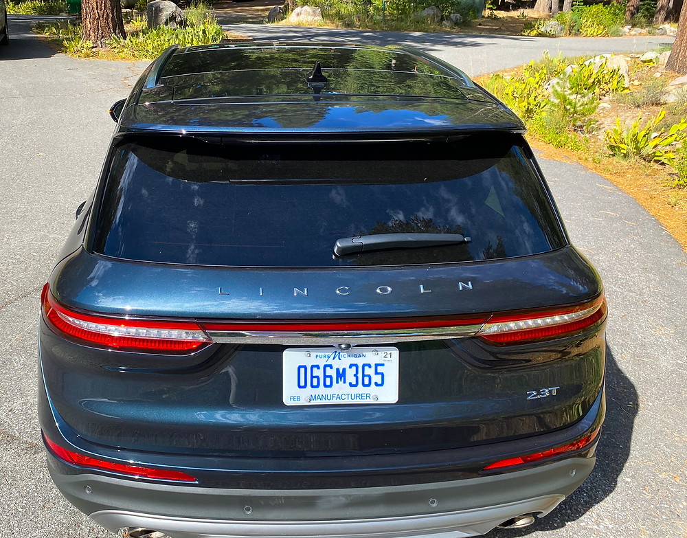 2020 Lincoln Corsair AWD Reserve rear view