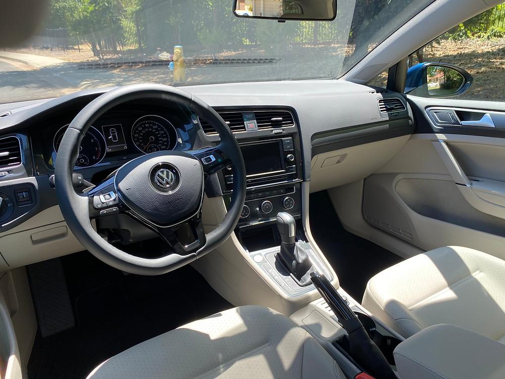 2021 Volkswagen Golf TSI instrument panel