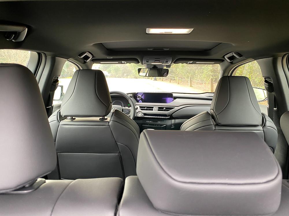 2021 Lexus UX 200 F SPORT interior