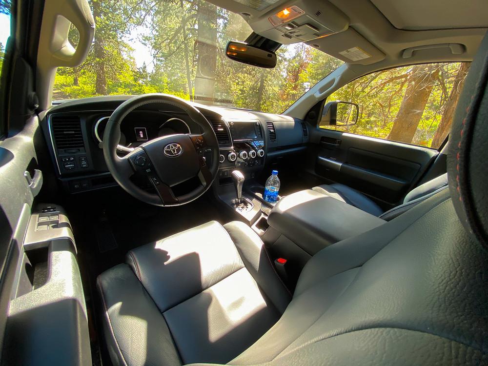 2020 Toyota Sequoia TRD PRO instrument panel