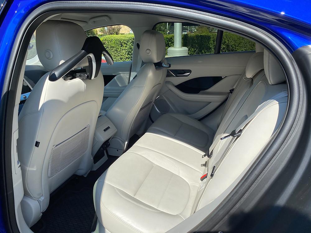 2020 Jaguar I-Pace rear seat