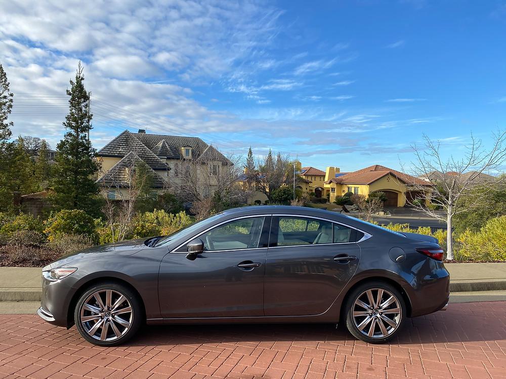 2021 Mazda 6 Signature side view