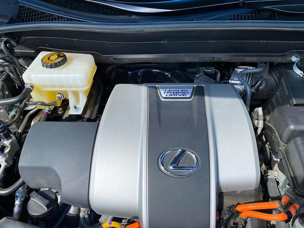 2020 Lexus RX 450hL hybrid powerplant