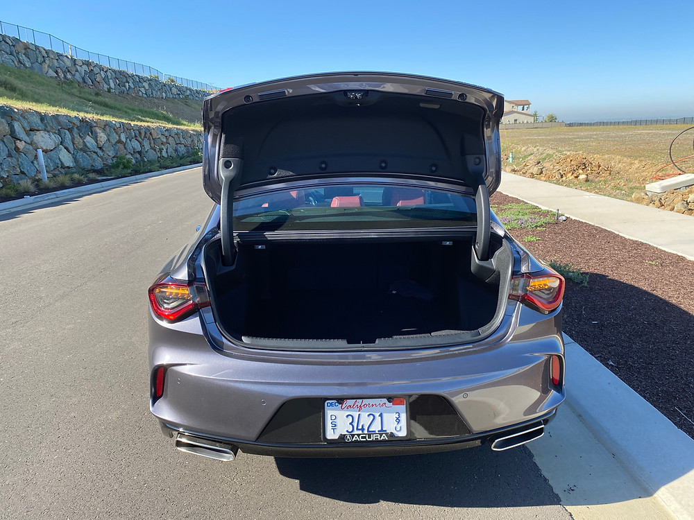 2021 Acura TLX SH-AWD A-Spec trunk open