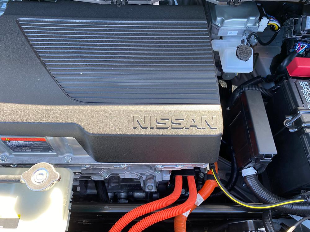 2021 Nissan Leaf SL Plus electric motor detail