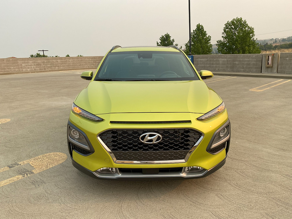 2020 Hyundai Kona Ultimate FWD front view