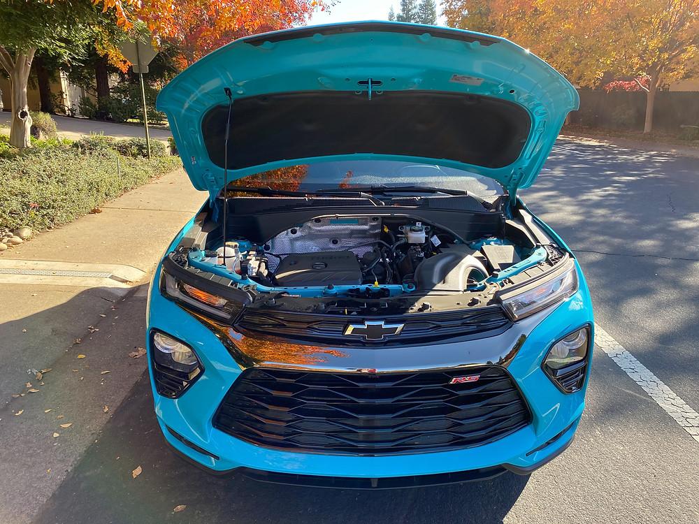2021 Chevrolet Trailblazer AWD RS hood up